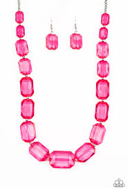 ICE Versa Pink Necklace