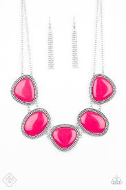 Viva La VIVID Pink Necklace