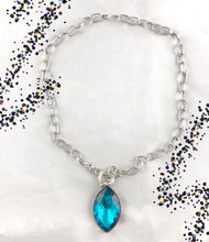 Load image into Gallery viewer, Unlimited Sparkle Blue Necklace