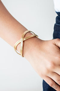 infinitely Iridescent Gold Bracelet