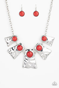 Cougar Red Necklace