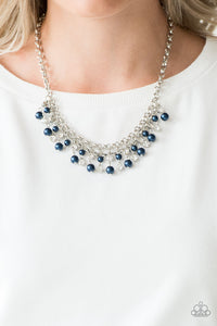 You May Kiss The Bride Blue Necklace