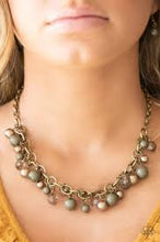 Load image into Gallery viewer, The GRIT Crowd Green Necklace