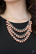 Load image into Gallery viewer, Chicly Classic Orange Necklace