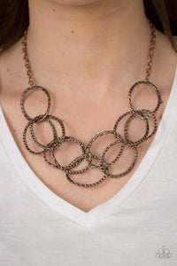 Circus Royale Copper Necklace