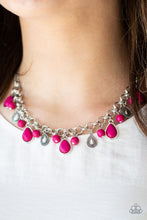 Load image into Gallery viewer, Welcome To The Bedrock Pink Necklace