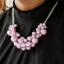 Load image into Gallery viewer, Glam Queen Purple Necklace