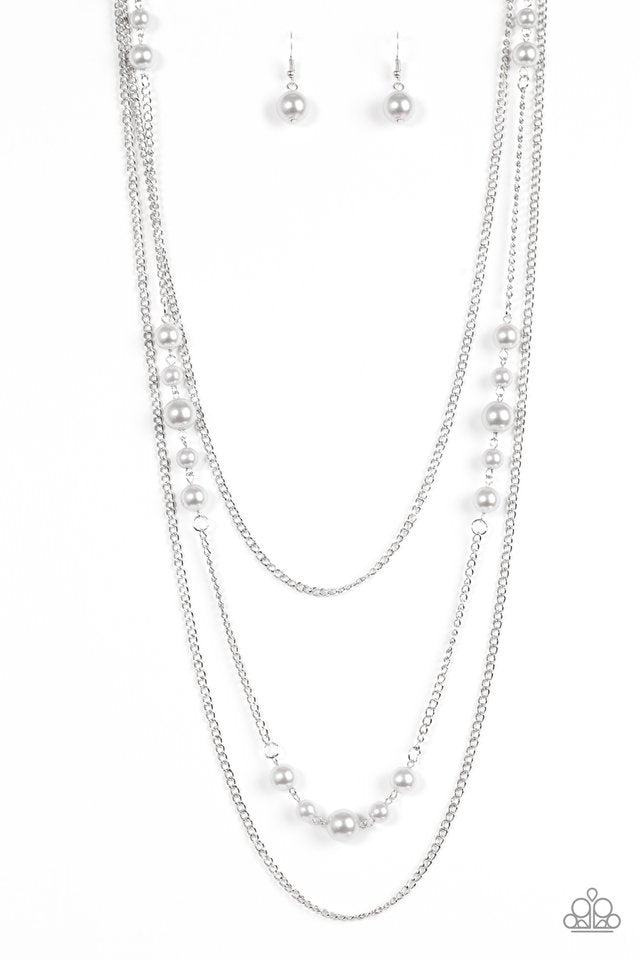 Diva Dilemma Silver Necklace