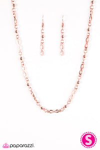 Infinite Beauty Copper Necklace