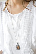 Load image into Gallery viewer, Total Tranquility Brown Necklace