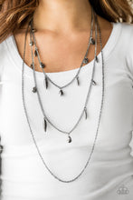 Load image into Gallery viewer, Bravo Bravado Black Necklace