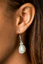 Load image into Gallery viewer, Millennial Matchmaker White Earring