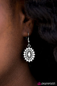 Everyone's A SHIMMER! White Earring