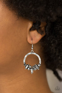 On The Uptrend Silver Earring