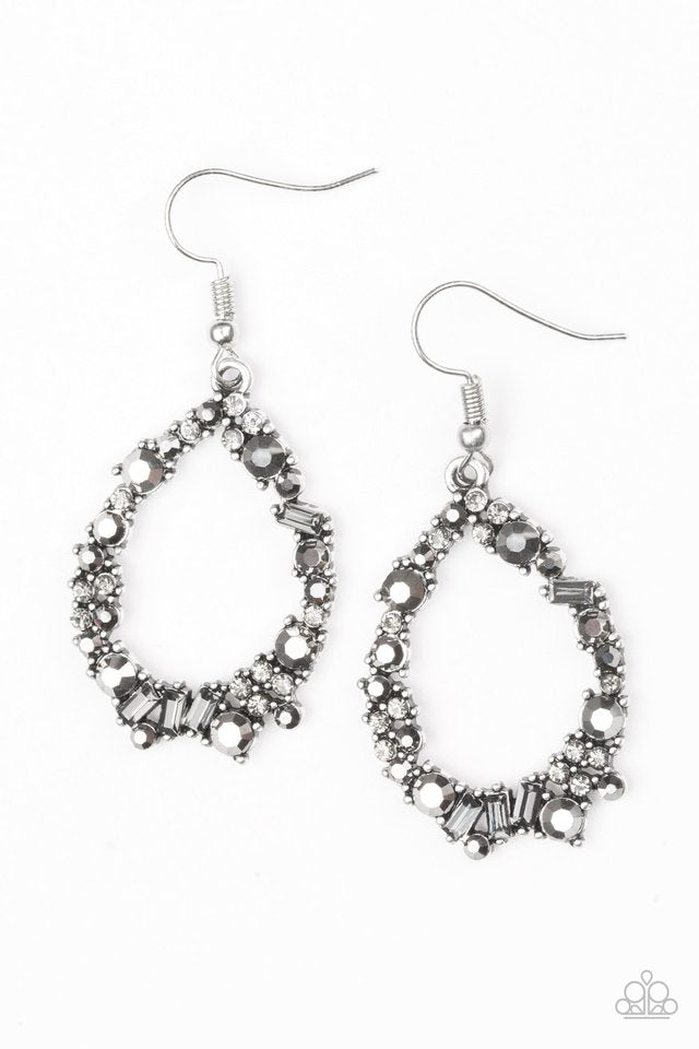 Crushing Couture Silver Earring