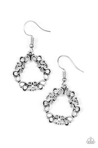 Whimsy Wreaths White Earring