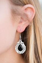 Load image into Gallery viewer, Movie Star Marvel Black Earring