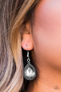 Talk Of The THRONE Silver Earring