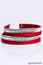 Flash Mob Fashion Red Bracelet
