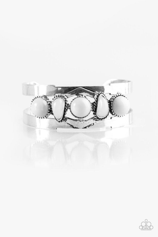 Keep On TRIBE-ing Silver Bracelet