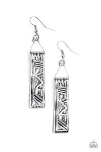 Ancient Artifacts Silver Earring