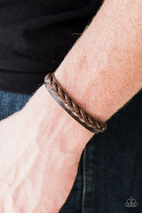 Let's Go For A Ride Urban Brown Bracelet
