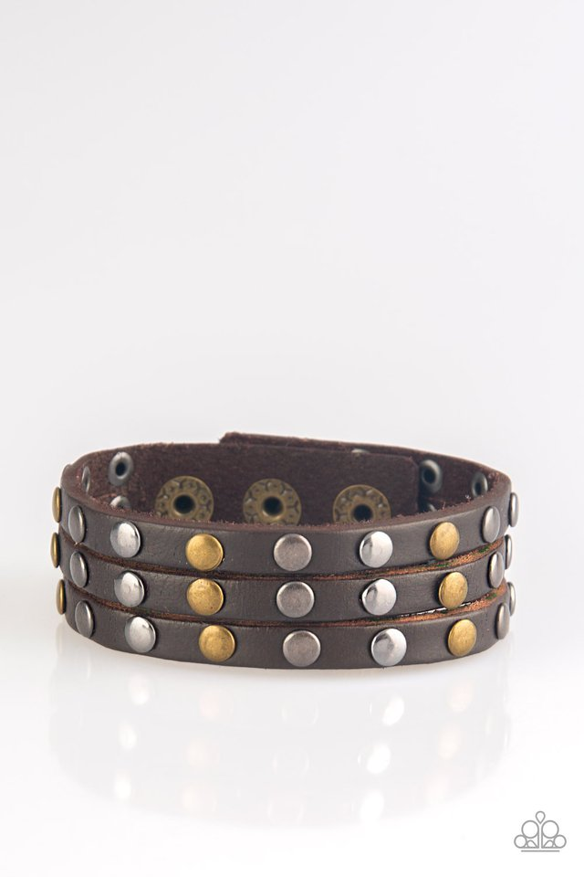 Rural Rider Urban Brown Bracelet