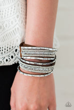 Load image into Gallery viewer, Glam Goals Urban Brown Bracelet