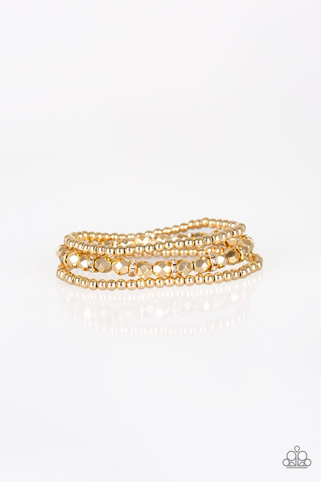 Let There BEAM Light Gold Bracelet