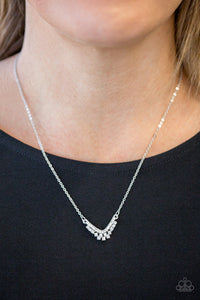 Classically Classic White Necklace