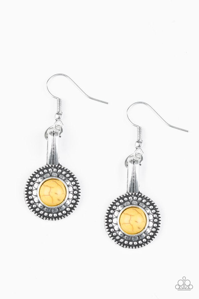Simply Stagecoach Yellow Earring