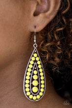 Load image into Gallery viewer, Rio Rumba Yellow Earring