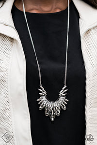 Leave It To LUXE Silver Necklace