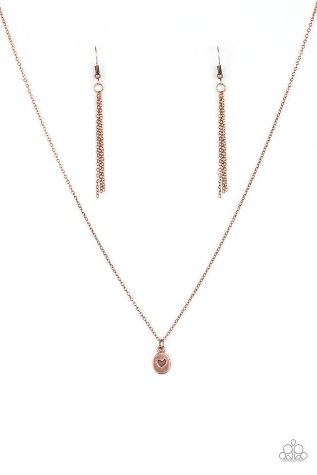 Live For Love Copper Necklace