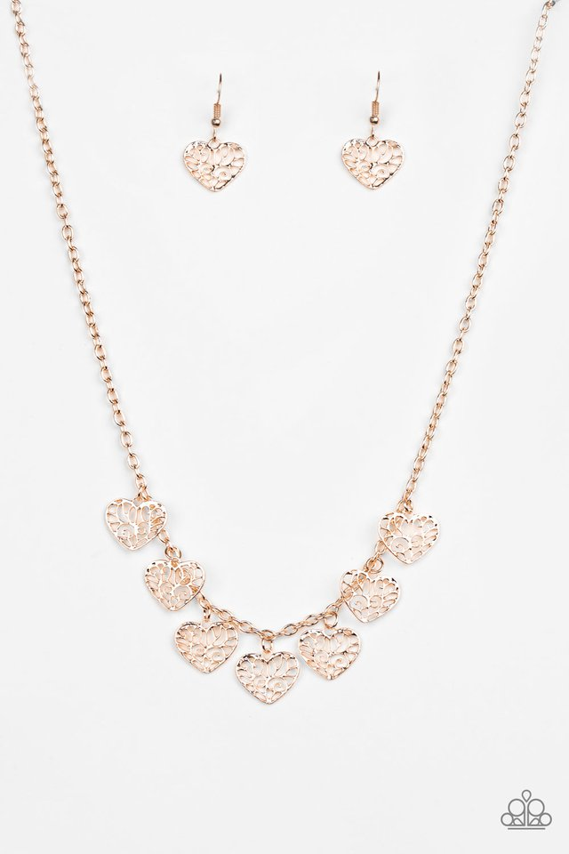 Less Is AMOUR Gold Necklace