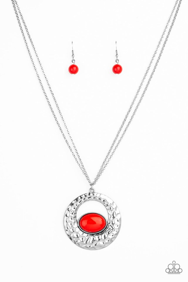 Viva Vivacious Red Necklace