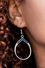 Load image into Gallery viewer, Sparkling Lights Blue Earring