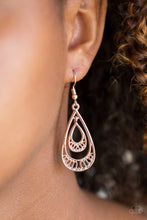 Load image into Gallery viewer, REIGNed Out Rose Gold Earring