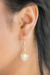 Westminster Waltz Gold Earring