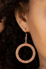 Load image into Gallery viewer, Bubbly Babe Copper Earring