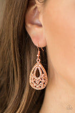 Load image into Gallery viewer, Sparkling Stardom Copper Earring