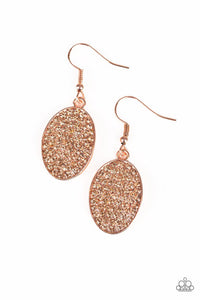 All Dazzle Copper Earring