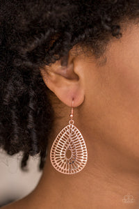 You Look GRATE! Copper Earring