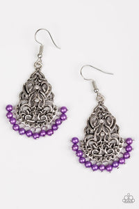 BAROQUE The Bank Purple Earring