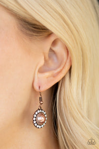 Fashion Show Celebrity Copper Earring