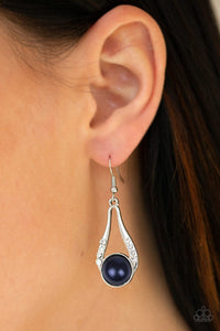 HEADLINER Over Heels Blue Earring