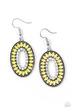 Load image into Gallery viewer, Fishing For Fabulous Yellow Earring