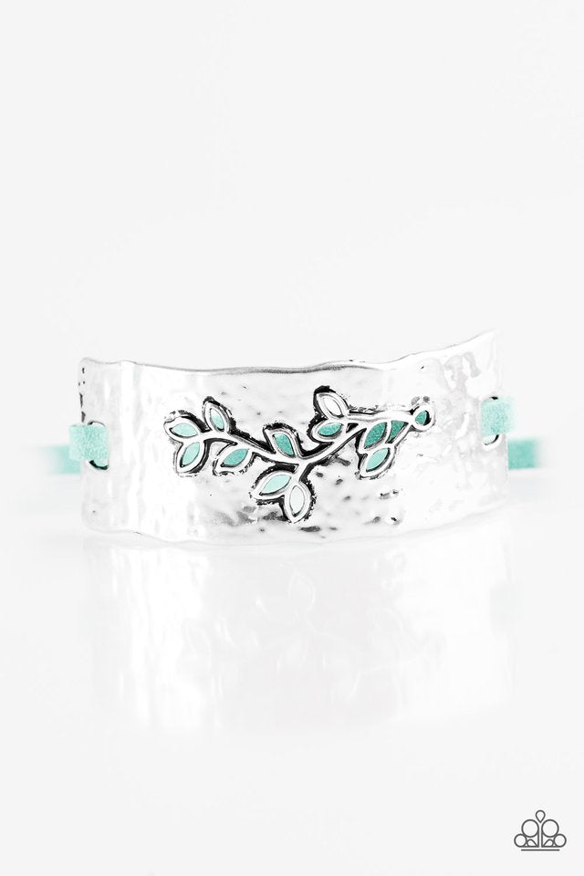 Branching Out Blue Bracelet