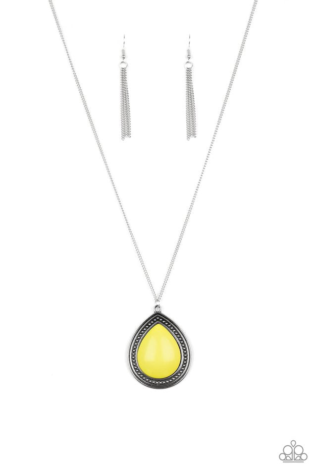 Chroma Courageous Yellow Necklace