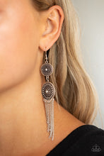 Load image into Gallery viewer, Medallion Mecca White Earring
